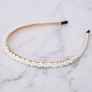 Twisted Pearl Alice Band