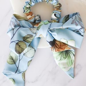 Scrunchie with a Bow and Headband