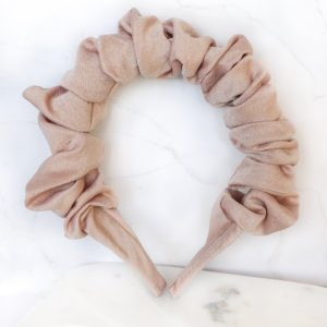 Alice band in Dusty Nude
