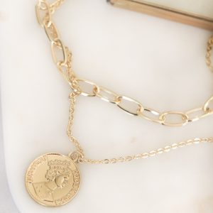 Necklace Gold 2chains